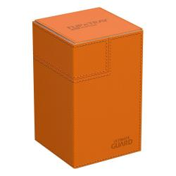 Ultimate Guard Flip´n´Tray Deck Case 100+ XenoSkin Naranja - Imagen 1