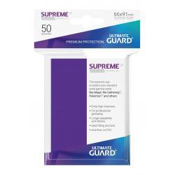 Ultimate Guard Supreme UX Sleeves Fundas de Cartas Tamaño Estándar Violeta (50) - Imagen 1