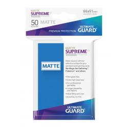 Ultimate Guard Supreme UX Sleeves Fundas de Cartas Tamaño Estándar Azul Real Mate (50) - Imagen 1