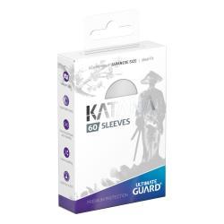 Ultimate Guard Katana Sleeves Tamaño Japonés Blanco (60) - Imagen 1