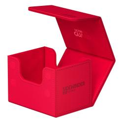 Ultimate Guard Sidewinder 100+ XenoSkin Monocolor Rojo - Imagen 1