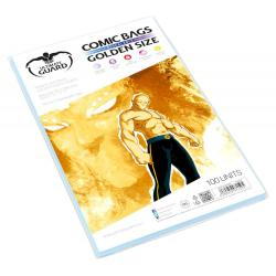 Ultimate Guard Comic Bags Bolsas con cierre reutilizable de Comics Golden Size (100) - Imagen 1