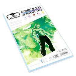 Ultimate Guard Comic Bags Bolsas con cierre reutilizable de Comics Current Size (100) - Imagen 1