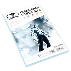 Ultimate Guard Comic Bags Bolsas de Comics Silver Size (100) - Imagen 1