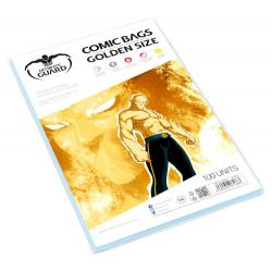 Ultimate Guard Comic Bags Bolsas de Comics Golden Size (100) - Imagen 1