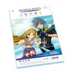 Ultimate Guard Manga Bags Bolsas con cierre reutilizable de Mangas (100) - Imagen 1