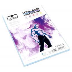 Ultimate Guard Comic Bags Bolsas con cierre reutilizable de Comics Magazine Size (100) - Imagen 1