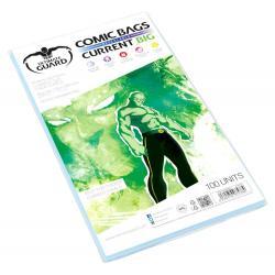 Ultimate Guard Comic Bags BIG Bolsas con cierre reutilizable de Comics Current Size (100) - Imagen 1
