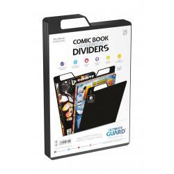 Ultimate Guard Premium Comic Book Dividers Separadores para Cómics Negro (25) - Imagen 1