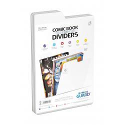 Ultimate Guard Premium Comic Book Dividers Separadores para Cómics Blanco (25) - Imagen 1