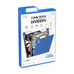 Ultimate Guard Premium Comic Book Dividers Separadores para Cómics Azul (25) - Imagen 1
