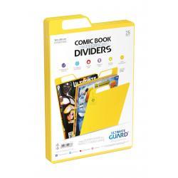 Ultimate Guard Premium Comic Book Dividers Separadores para Cómics Amarillo (25) - Imagen 1