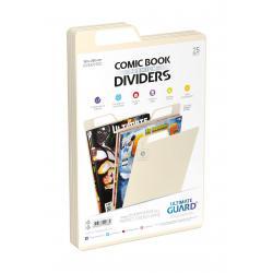 Ultimate Guard Premium Comic Book Dividers Separadores para Cómics Beige (25) - Imagen 1