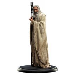 El Señor de los Anillos Estatua Saruman el Blanco 19 cm - Imagen 1