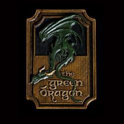 El Señor de los Anillos Imán The Green Dragon - Imagen 1