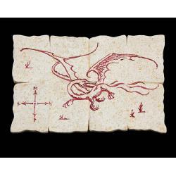 Hobbit Imán Dragon Map - Imagen 1