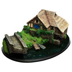 El hobbit: un viaje inesperado Diorama Hobbiton Mill & Bridge 31 x 17 cm - Imagen 1