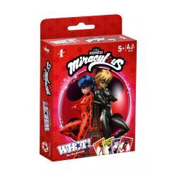 Miraculous: Las aventuras de Ladybug Juego de cartas WHOT! *Edición Alemán* - Imagen 1
