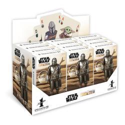 Star Wars The Mandalorian Barajas de Naipes Number 1 Expositor (12) *Edición Alemán* - Imagen 1