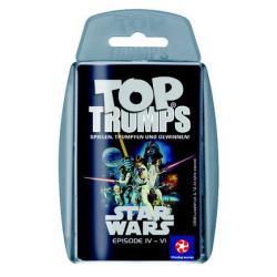 Star Wars IV-VI Top Trumps *Alemán* - Imagen 1