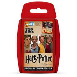 Harry Potter y el cáliz de fuego Top Trumps *Alemán* - Imagen 1