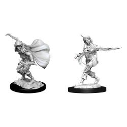 Pathfinder Battles Deep Cuts Miniaturas sin pintar Human Rogue Female Caja (6) - Imagen 1