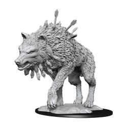 Magic the Gathering Miniaturas sin pintar Cosmo Wolf Caja (6) - Imagen 1
