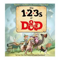 Dungeons & Dragons Libro educativo The 123s of D&D Inglés - Imagen 1