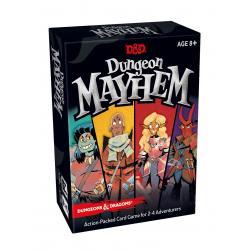 Dungeons & Dragons Juego de Cartas Dungeon Mayhem alemán - Imagen 1