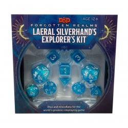 Dungeons & Dragons Forgotten Realms: Laeral Silverhand's Explorer's Kit - Dice & Miscellany Inglés - Imagen 1