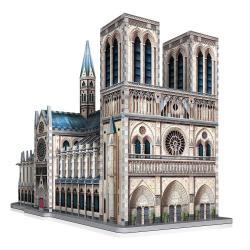 Wrebbit Castles & Cathedrals Collection Puzzle 3D Notre-Dame de Paris (830 piezas) - Imagen 1