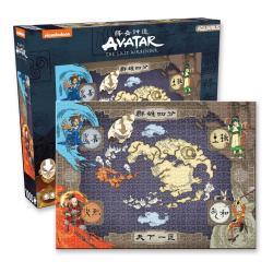 Avatar: la leyenda de Aang Puzzle Map (1000 piezas) - Imagen 1