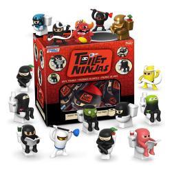 Toilet Ninjas Paka Paka Minifiguras 5 cm Expositor (18) - Imagen 1