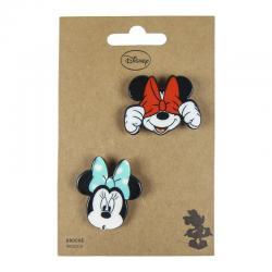 Set 2 broches Minnie Disney - Imagen 1