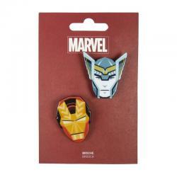 Set 2 broches Vengadores Avengers Marvel - Imagen 1