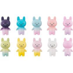 Zettai ni Kowarenai Tomodachi wo Kudasai Pack de 9 Minifiguras Rabbit-Type UMA Ogakuzu 10 cm - Imagen 1