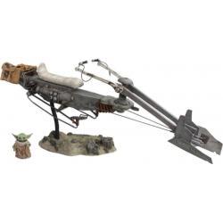 Star Wars The Mandalorian Vehículo 1/6 Swoop Bike 59 cm - Imagen 1