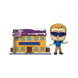 South Park: The Stick of Truth POP! Town Vinyl Figura SP Elementary w/PC Principal 9 cm - Imagen 1