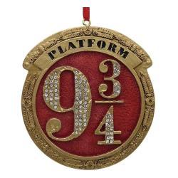 Harry Potter Decoracións Árbol de Navidad Platform 9 3/4 Caja (6) - Imagen 1