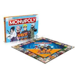 Naruto Juego de Mesa Monopoly *Edición Francesa* - Imagen 1
