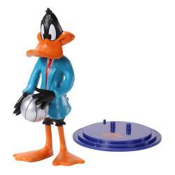 Space Jam 2 Figura Maleable Bendyfigs Duffy Duck 19 cm - Imagen 1