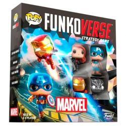 Juego mesa español POP Funkoverse Marvel 4fig - Imagen 1