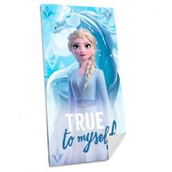 Toalla Elsa Frozen 2 Disney algodon - Imagen 1