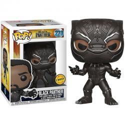 Figura POP Marvel Black Panther Chase - Imagen 1