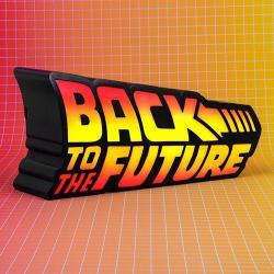 Regreso al Futuro Lámpara LED Logo 25 cm - Imagen 1