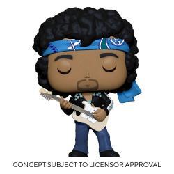 Jimi Hendrix POP! Rocks Vinyl Figura Jimi Hendrix (Live in Maui Jacket) 9 cm - Imagen 1