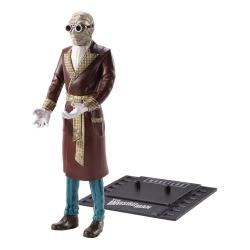 Universal Monsters Figura Maleable Bendyfigs Invisible Man 19 cm - Imagen 1