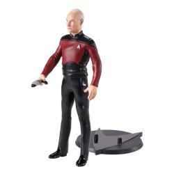 Star Trek: The Next Generation Figura Maleable Bendyfigs Capt. Picard 19 cm - Imagen 1