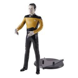 Star Trek: The Next Generation Figura Maleable Bendyfigs Lt. Cmdr. Data 19 cm - Imagen 1