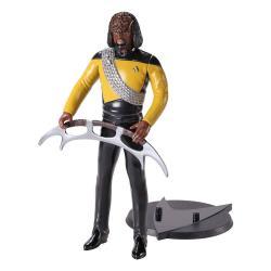 Star Trek: The Next Generation Figura Maleable Bendyfigs Lt Worf 19 cm - Imagen 1